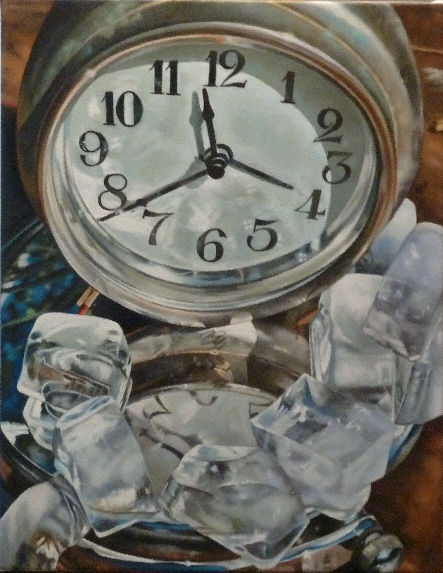 Reflections on the Future, a painting by Australian artist Katherine Edney