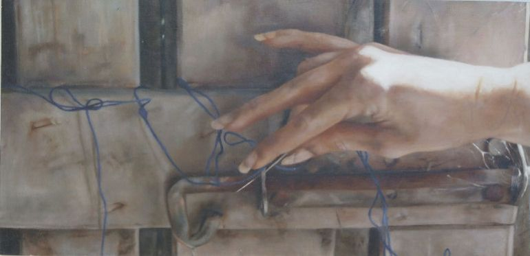 In The Days That Followed 13, a painting by Australian artist Katherine Edney