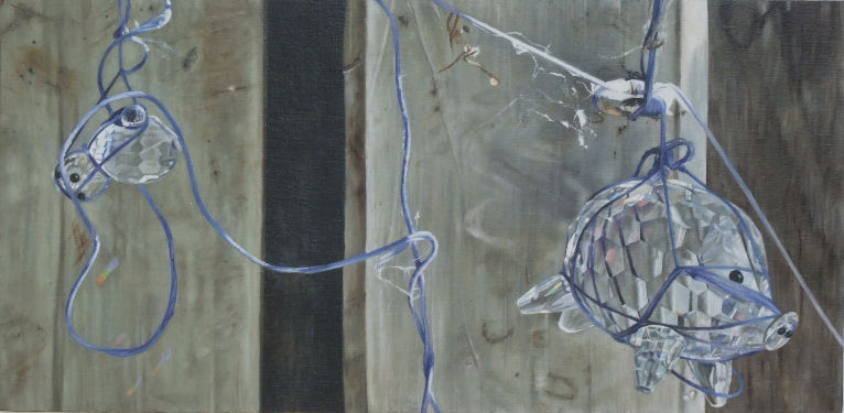 In The Days That Followed 5, a painting by Australian artist Katherine Edney