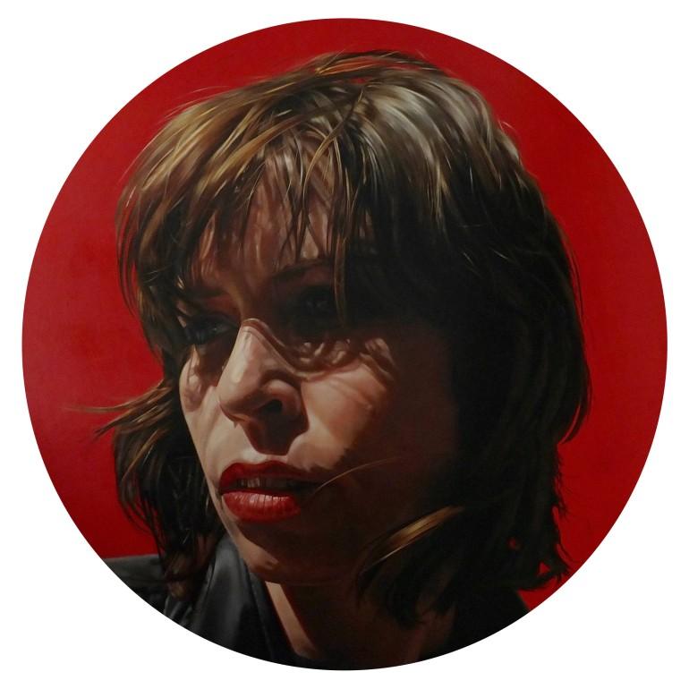 Hayley Mary, a painting Australian artist Katherine Edney