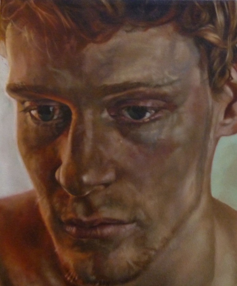 Benjamin, a painting by Australian artist Katherine Edney