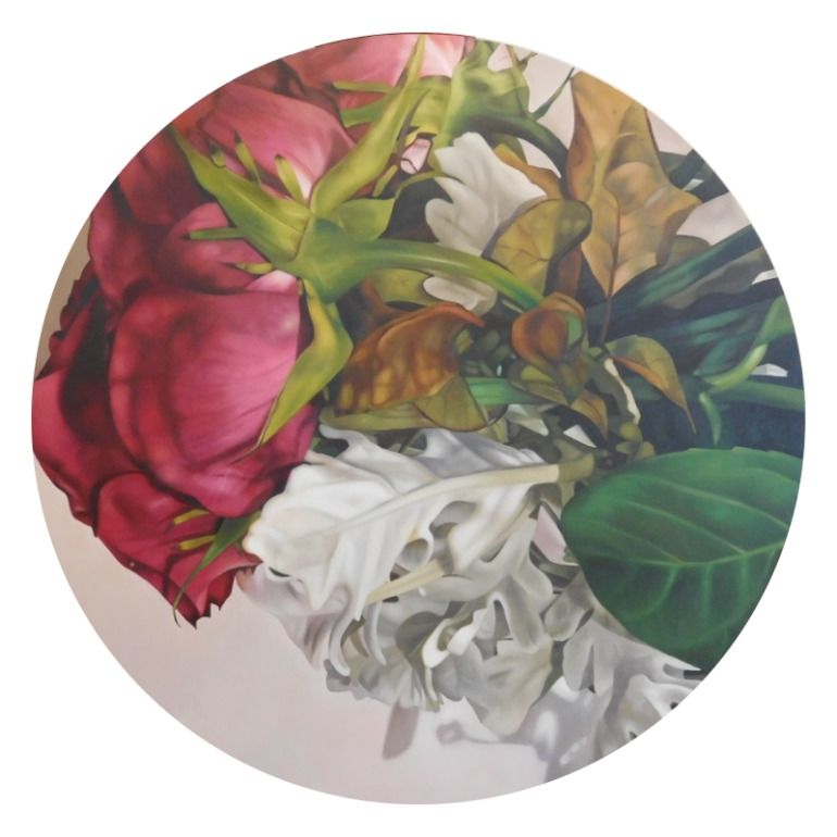 Some Roses Are Red, a painting by Australian artist Katherine Edney