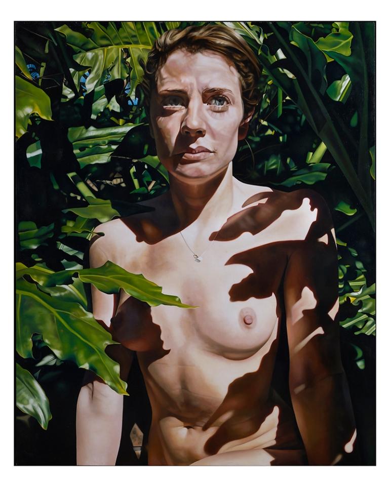 The Artist's Sister, Elizabeth, by Australian artist Katherine Edney
